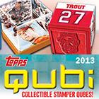 2013 Topps Qubi Baseball Stampers