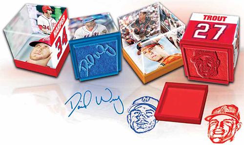 2013 Topps Qubi Baseball Stampers 3