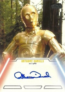 2013 Topps Star Wars Jedi Legacy Autographs Showcase 2