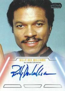 2013 Topps Star Wars Jedi Legacy Autographs Showcase 3