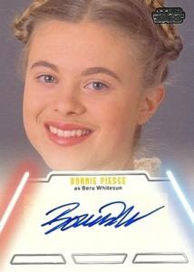 2013 Topps Star Wars Jedi Legacy Autographs Showcase 12