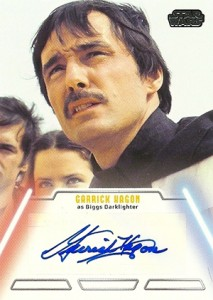 2013 Topps Star Wars Jedi Legacy Autographs Showcase 13
