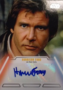 Harrison Ford Autograph Card Collecting Guide and Checklist 26