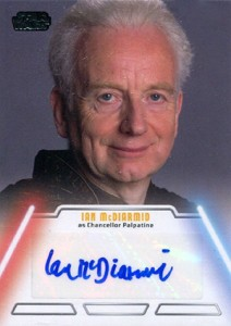 2013 Topps Star Wars Jedi Legacy Autographs Showcase 14