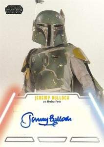 2013 Topps Star Wars Jedi Legacy Autographs Showcase 15
