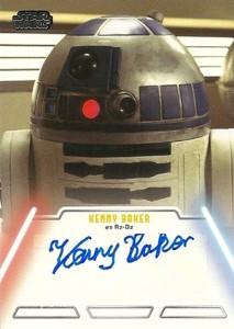2013 Topps Star Wars Jedi Legacy Autographs Showcase 8
