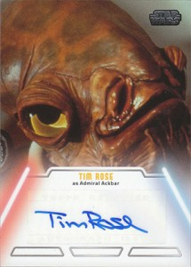 2013 Topps Star Wars Jedi Legacy Autographs Showcase 9