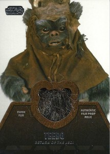 2013 Topps Star Wars Jedi Legacy Relic Cards Guide 10