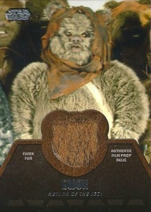 2013 Topps Star Wars Jedi Legacy Relic Cards Guide 12