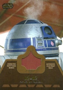 2013 Topps Star Wars Jedi Legacy Relic Cards Guide 16