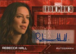 Iron Man Autographs Trading Card Guide 16