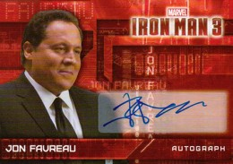 Iron Man Autographs Trading Card Guide 15