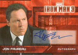 Iron Man Autographs Trading Card Guide 14