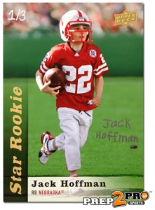 Autographed Jack Hoffman Card Sells for $6,100 1