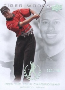 2013 Upper Deck Tiger Woods Master Collection Golf Cards 24