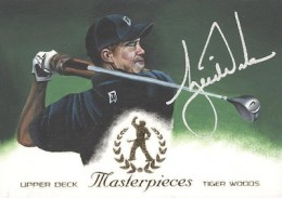 2013 Upper Deck Tiger Woods Master Collection Golf Cards 31