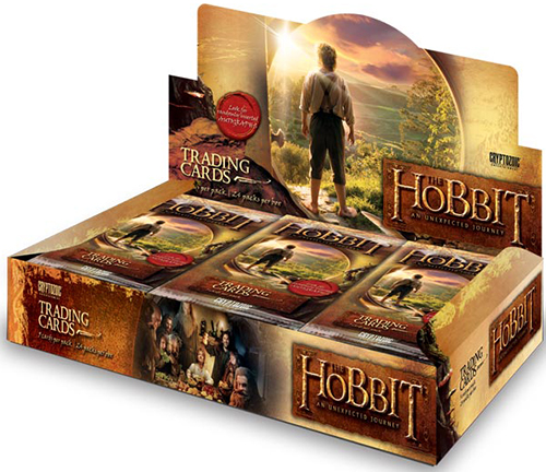 2014 Cryptozoic The Hobbit An Unexpected Journey Box