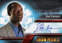 Iron Man Autographs Trading Card Guide 13