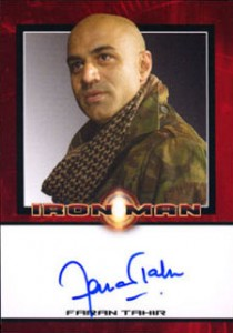Iron Man Autographs Trading Card Guide 8
