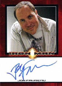 Iron Man Autographs Trading Card Guide 5