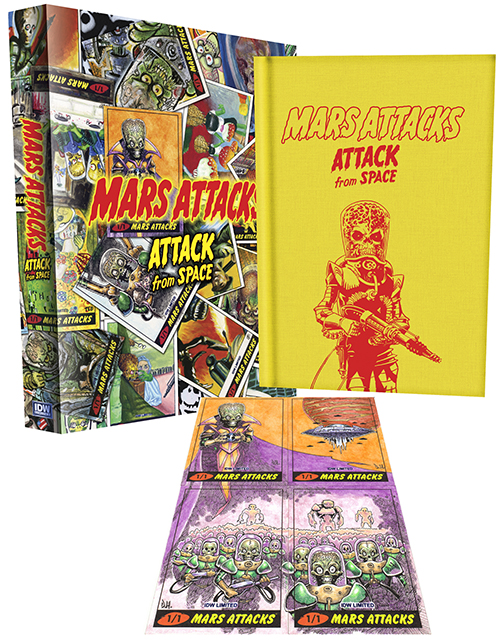 2013 IDW Limited Mars Attacks Sketch Cards 1