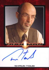 Iron Man Autographs Trading Card Guide 9
