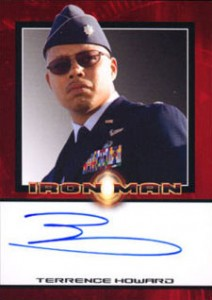 Iron Man Autographs Trading Card Guide 7