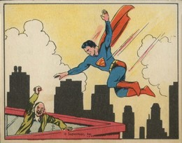 1940 Gum Inc. Superman Trading Cards 1