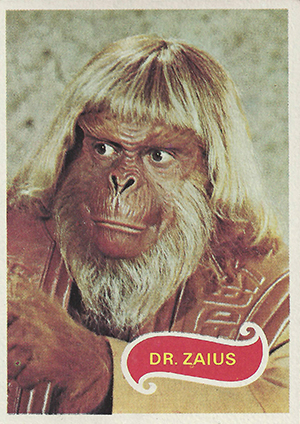 1975 Topps Planet of the Apes Trading Card