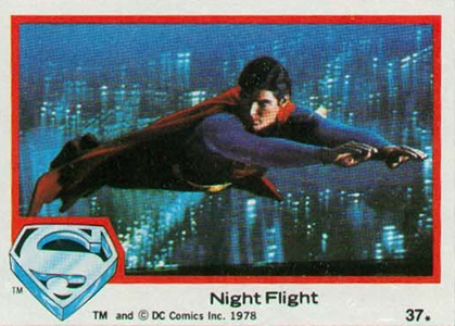 1978 Topps Superman the Movie Trading Cards 5