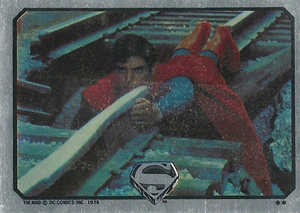1978 Topps Superman the Movie Trading Cards 23