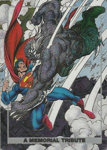 1992 SkyBox Doomsday Death of Superman S1