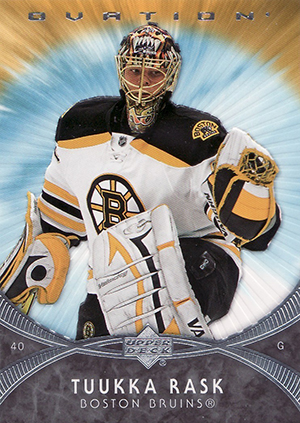 Tuukka Rask Cards - 2007-08 Upper Deck Ovation RC