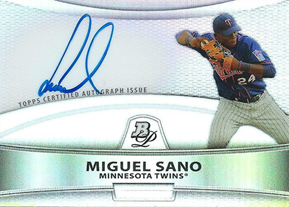 Miguel Sano Baseball Card Highlights 5
