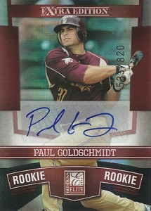 Paul Goldschmidt Cards, Rookie Cards and Memorabilia Guide 7