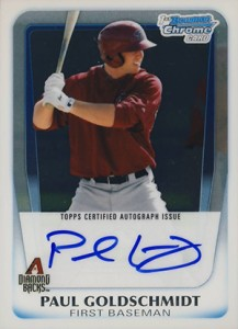 Paul Goldschmidt Cards, Rookie Cards and Memorabilia Guide 8