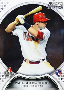 2011 Bowman Sterling Paul Goldschmidt RC