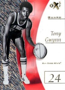2012-13 Fleer Retro Basketball EX Tony Gwynn