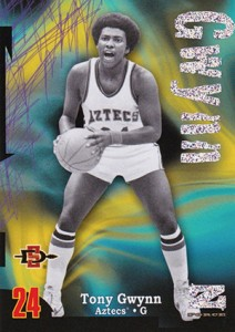 2012-13 Fleer Retro Basketball Rave Tony Gwynn