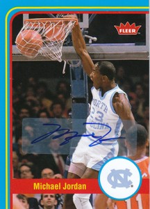 2012-13 Fleer Retro Michael Jordan Cards Soar 2