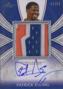 2012 13 Leaf Metal Basketball Patch Auto Patrick Ewing 213x300 Image