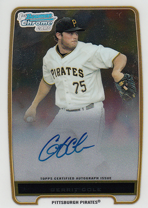 Top Gerrit Cole Prospect Cards 9