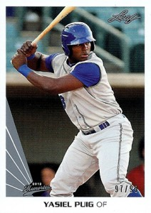 Top Yasiel Puig Baseball Cards Available Right Now 2