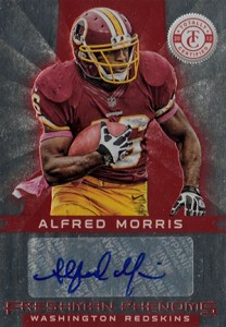 2012 Panini Totally Certified Alfred Morris RC