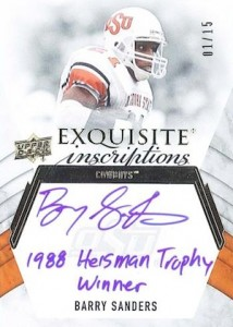 2012 Upper Deck Exquisite Football Cards 16
