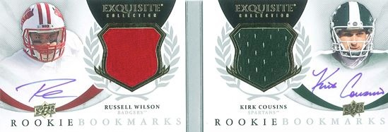 2012 Upper Deck Exquisite Football Cards 18