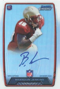 2013 Bowman Football Rookie Chrome Refractor Autographs Guide 4