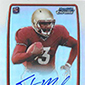 2013 Bowman Football Rookie Chrome Refractor Autographs Guide