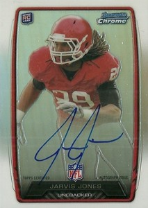 2013 Bowman Football Rookie Chrome Refractor Autographs Guide 18