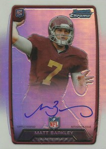 2013 Bowman Football Rookie Chrome Refractor Autographs Guide 26